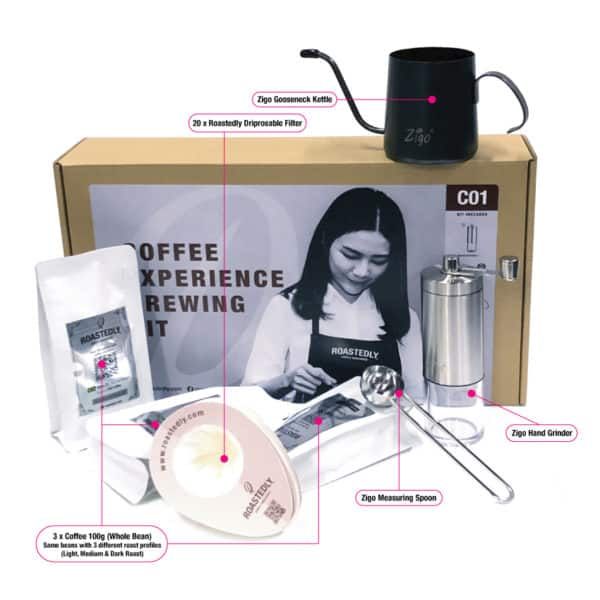 Coffee Brewing Experience Kit (C01)